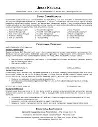 supply chain manager resumefree resume templates