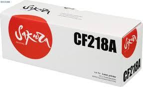 <b>Sakura SACF218A</b> Тонер-<b>картридж</b> CF218A черный ...