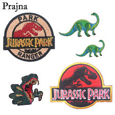 <b>Prajna Jurassic Park</b> Dinosaur Iron on Embroidered <b>Patch</b> For ...