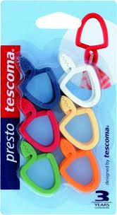 """<b>Петля универсальная</b> Tescoma """"Presto"""", цвет: красный, желтый ..."""
