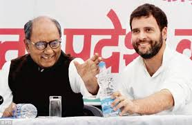 Image result for Rahul Gandhi and digvijay Singh images free