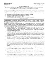 resume executive director non profit cipanewsletter resume foundation director executive director resume sample non