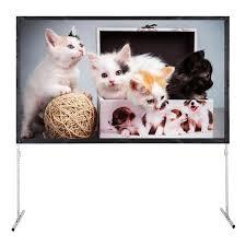 LANGRIA <b>Excelvan 4K Ultra</b> HD Movie Theatre Fast-Fold Projector ...