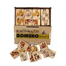<b>Деревянная игрушка Tau Toy</b> Домино Зверята - Акушерство.Ru