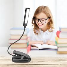 <b>PANYUE 10PCS</b> Mini COB LED Clip On Adjustable Book Reading ...