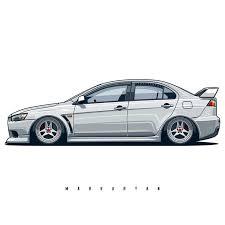 """Oleg Markaryan en Instagram: """"Mitsubishi <b>Lancer Evo</b> X. <b>T</b>-<b>shirts</b> ..."""
