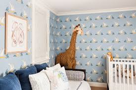 bright patterned wallpaper makes a nautical splash in this baby boys room a sense bedroom cool bedroom wallpaper baby nursery