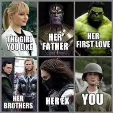 SuperHero Marvel Comincs Love Story | Funny Pictures, Quotes ... via Relatably.com