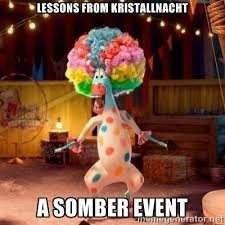 Lessons from Kristallnacht A Somber Event - Afro Circus Polkadot ... via Relatably.com
