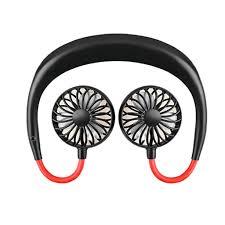 <b>1PC</b> Neck Band No-Hands Hanging Mini Dual Fans Air Cooler <b>USB</b> ...