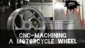 <b>CNC</b>-machining a <b>motorcycle</b> front wheel - YouTube