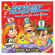 <b>Настольная игра Trends</b> International Hedbanz. Угадай, кто ты ...