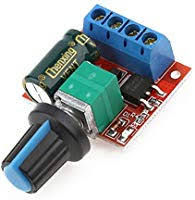PWM DC Motor Speed Controller, Mini 5A 90W PWM ... - Amazon.com