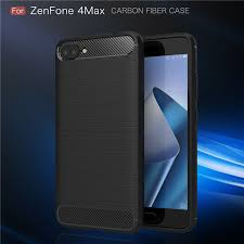 For Asus Zenfone 4 Max ZC554KL CASE Luxury <b>Carbon Fiber Anti</b> ...