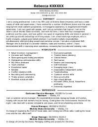 sales associate resume example  dollar general    hartly  delawarerebecca k
