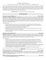 substitute teacher resume samples eager world substitute teacher resume samples professional sample resume for substitute teacher job position