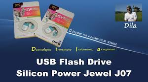 Обзор <b>USB Flash Drive Silicon Power</b> Jewel J07 - YouTube
