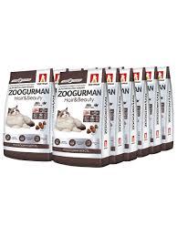 Полнорационный <b>сухой корм</b> д/кошек Zoogurman <b>Hair</b> & Beauty ...