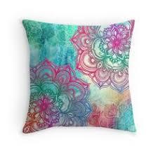 Fuwatacchi <b>Nordic Style</b> Floral Cushion Cover Geometric Flower ...