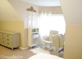 mini nursery nook master bedroom