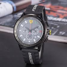 Car F1 Watch <b>Waterproof Calendar Luminous</b> Three Eyes Six Pins ...