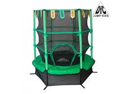 "<b>Батут DFC JUMP KIDS</b> 55"" зеленый, сетка (137см) — «Billiard ..."