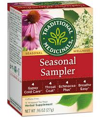 <b>Seasonal</b> Sampler - Traditional Medicinals - Herbal Wellness <b>Teas</b>