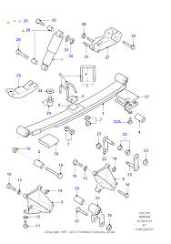 Задние <b>пружины</b> и <b>амортизаторы</b> FORD Transit 1994-2000 (EY)