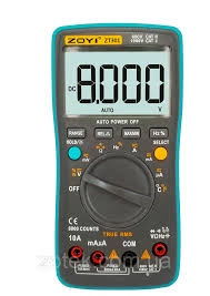 Купить <b>ZOYI</b> ZT301 Защищённый <b>Мультиметр</b> с термопарой ...