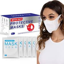 3D Disposable Mask for Adults, Elastic Cloth Ear ... - Amazon.com