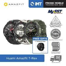 [MY] Huami <b>Amazfit T</b>-<b>Rex Smartwatch</b> - <b>Original</b> Malaysia Set ...