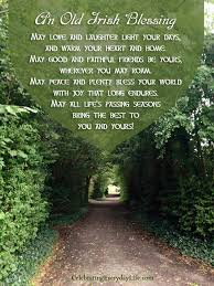 An Old Irish Blessing {A St. Patrick's Day Quote} | Celebrating ...