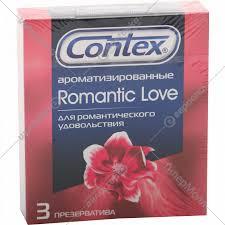 <b>Презервативы</b> «Contex» <b>Romantic</b> Love <b>ароматизированные</b> 3 шт.