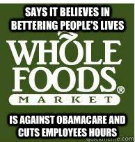 Whole Foods memes | quickmeme via Relatably.com