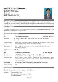 latest best resume format pdf cipanewsletter updated resume format