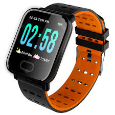 <b>A6 Smart Watch Heart</b> Rate Monitor Smartwatch Blood Pressure ...