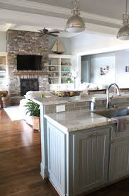 Small Kitchen Living Room 17 Best Ideas About Kitchen Living Rooms On Pinterest Small Home