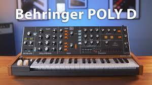 <b>Behringer</b> Poly <b>D</b>: полифонический 4-голоcный клон Moog Minimoog