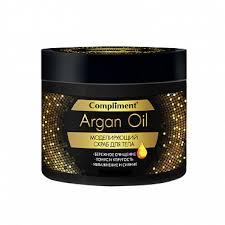 Купить <b>скраб для тела</b> Compliment Argan Oil <b>Моделирующий</b> 300 ...