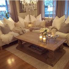 warm living room ideas: what i like about this is the comfort derived from the textures lighting warm and fluff of the fabrics and cushioning