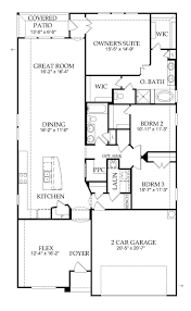 Calla New Home Plan   McKinney  TX   Pulte Homes New Home Builders    First Floor