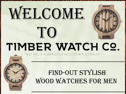 <b>Men's luxury wooden watches</b> with unique style - Timberwatch.co by ...