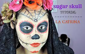 easy sugar skull makeup tutorial la catrina