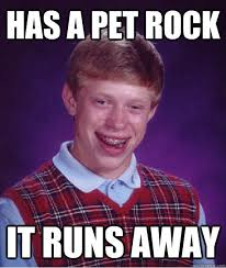 Bad Luck Brian memes | quickmeme via Relatably.com