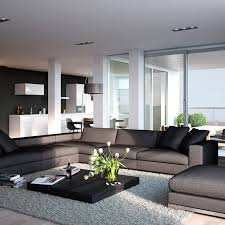 ideas contemporary living room:  modern recessed lighting with grey living room smart kitchen designs for apartments ideas blonde wood apartment open plan kitchenliving