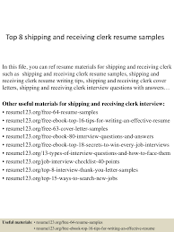 topshippingandreceivingclerkresumesamples conversion gate thumbnail jpg cb