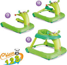 <b>Ходунки</b>-<b>качалка Chicco 123 Baby</b> Walker Green 06079415510000 ...
