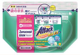 """<b>Стиральный порошок Attack</b> """"BioEX"""", <b>концентрированный</b>, 0,9 кг ..."""