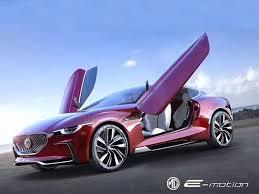 Купе MG с электромотором разгонится до «сотни»за 4 секунды