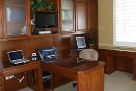 the best home office cabinets and desks built in home office furniture